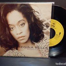 Discos de vinilo: REGINA BELLE IF I COULD SINGLE SPAIN 1993 PDELUXE. Lote 288894588