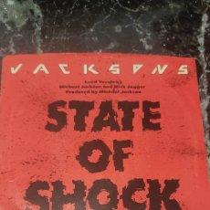 Discos de vinilo: STATE OS SHOCK. JACKSONS. Lote 288898678