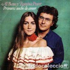 Discos de vinilo: AL BANO Y ROMINA POWER – PRIMERA NOCHE DE AMOR - SINGLE SPAIN 1977. Lote 288902638