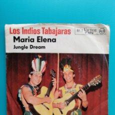 Discos de vinilo: LOS INDIOS TRABAJARÁS - MARÍA ELENA-JUNGLE DREAM. Lote 288903488