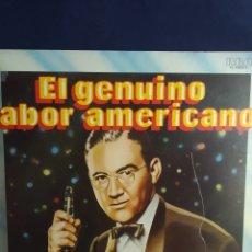 Discos de vinilo: DOBLE LP EL GENUINO SABOR AMERICANO 4 BIG BAND VOL. 1 -5 BIG BAND VOL. 2. Lote 288905238