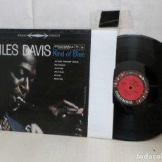 Discos de vinilo: MILES DAVIS--KING OF BLUE----COLUMBIA --2010--NEW YORK--MADE U.S.A.---180 GRM--PLANETA DEAGOSTINI--. Lote 288907328