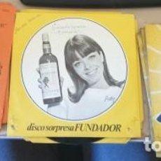 Discos de vinilo: DISCO SORPRESA FUNDADOR 1971 (7 DISCOS) 4 AMARILLOS (1967). 5 NARANJAS (1962). MIGUEL RAMOS, MIGUEL. Lote 288907503