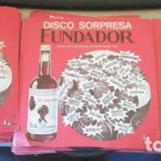Discos de vinilo: DISCO SORPRESA FUNDADOR. 28 DISCOS FUNDA ROJA. FORMULA V, MONICA BUSCH, ANA MARIA LA JEREZANA, RAPHA. Lote 288907508