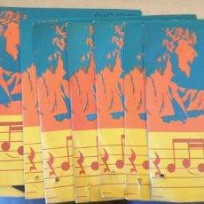 Discos de vinilo: DISCO SORPRESA FUNDADOR 1972/73. 12 DISCOS. DEJAME SOÑAR, LOS ALBAS, ¡QUE GRANDE ES LOLA! LAS RUMBAS. Lote 288907513