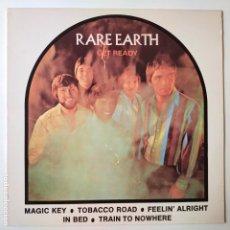Discos de vinilo: RARE EARTH- GET READY- SPAIN LP 1983- VINILO COMO NUEVO.. Lote 288907818