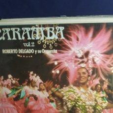 Discos de vinilo: LP CARAMBA VOL. 2 ROBERTO DELGADO Y SU ORQUESTA. Lote 288908328