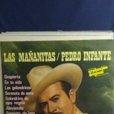 Discos de vinilo: LP LAS MAÑANITAS / PEDRO INFANTE. Lote 288908798