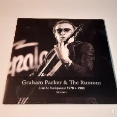 Discos de vinilo: 0921-GRAHAM PARKER & THE RUMOUR-LIVE AT LIVE AT ROCKPALAST 1978+1980, 2XLP-VINYL NEW PRECINTED. Lote 288912348