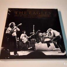 Discos de vinilo: 0921-EAGLES - LIVE AT THE SUMMIT, HOUSTON 1976, BOX 3XLP-VINYL NEW PRECINTED. Lote 288912768