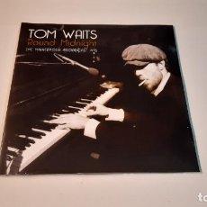 Discos de vinilo: 0921- TOM WAITS - ROUND MIDNIGHT (THE MINNEAPOLIS BROADCAST 1975)- 2XLP-VINYL NEW PRECINTED. Lote 288913248