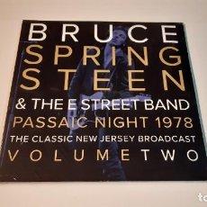 Discos de vinilo: 0921-BRUCE SPRINGSTEEN-PASSAIC NIGHT 1978 THE CLASSIC NEW JERSEY ...VOL.2- 2XLP-VINYL NEW PRECINTED. Lote 288914913