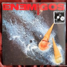Discos de vinilo: LOS ENEMIGOS - LA VIDA MATA LP + CD. Lote 288916008