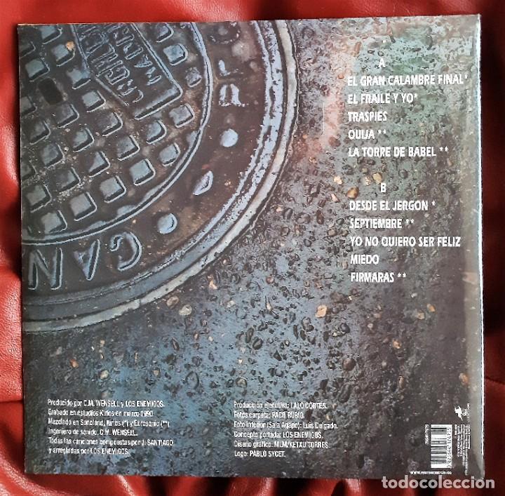 Discos de vinilo: LOS ENEMIGOS - LA VIDA MATA LP + CD - Foto 2 - 288916008