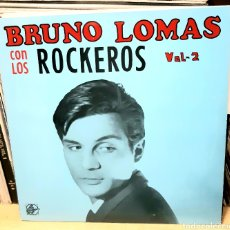 Discos de vinilo: MUSICA GOYO - LP - BRUNO LOMAS CON LOS ROCKEROS V2 - AA99. Lote 288916213