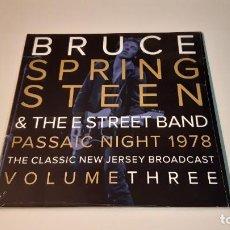 Discos de vinilo: 0921-BRUCE SPRINGSTEEN-PASSAIC NIGHT 1978 THE CLASSIC NEW JERSEY.. VOL.3.- 2XLP-VINYL NEW PRECINTED. Lote 288916633