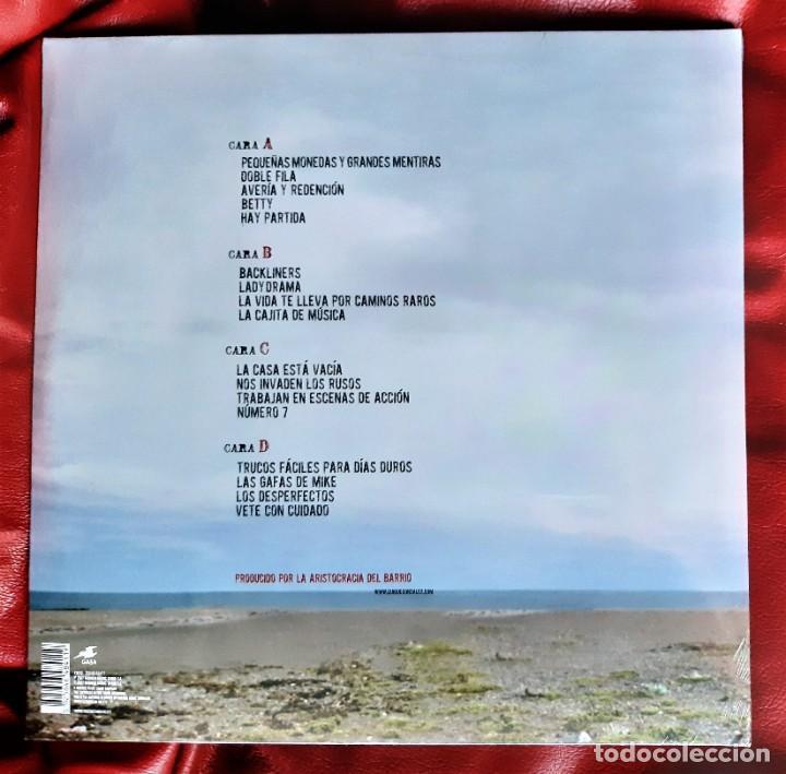 Discos de vinilo: QUIQUE GONZÁLEZ Y LA ARISTOCRACIA DEL BARRIO - AVERÍA Y REDENCIÓN 2xLP + CD - Foto 2 - 288918143