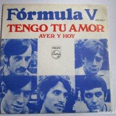 Discos de vinilo: FORMULA V TENGO TU AMOR. Lote 288921113