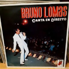 Discos de vinilo: MUSICA GOYO - LP - BRUNO LOMAS CANTA EN DIRECTO - AA99. Lote 288921548