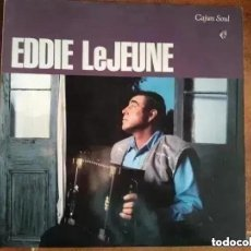 Discos de vinilo: EDDIE LEJEUNE - CAJUN SOUL (LP) 1988. Lote 288922958