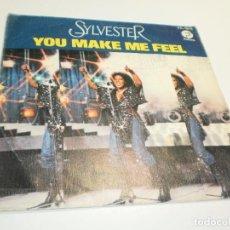 Discos de vinilo: SINGLE SYLVESTER. YOU MAKE ME FEEL. GRATEFUL. FANTASY 1979 SPAIN (PROBADO, BUEN ESTADO). Lote 288923728