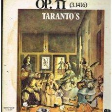 Discos de vinilo: TARANTO'S - OP. PI (3,1416) - LP 1969 - PORTADA DOBLE. Lote 288926363