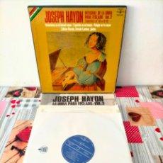 Discos de vinilo: BOX SET 5 LP VINILOS JOSEPH HAYDN , INTEGRAL DE LA OBRA PARA TECLADO- VOL.2. 5 LP DISCO VINILO HISPA. Lote 288926483