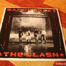 Discos de vinilo: THE CLASH TRIPLE LP SANDINISTA 1980 CBS ESPAÑA 1989. Lote 288939908