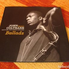 Discos de vinilo: JOHN COLTRANE QUARTET LP BALLADS PAN AM EUROPA 2016 DESPLEGABLE. Lote 288944583