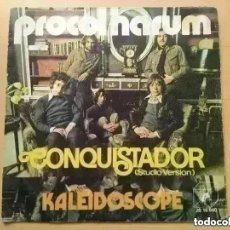 Discos de vinilo: PROCOL HARUM - CONQUISTADOR (SG) 1972. Lote 288946338