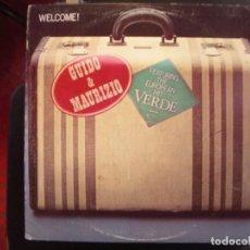 Discos de vinilo: GUIDO Y MAURIZIO DE ANGELIS- WELCOME! LP. Lote 288947053