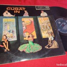 Discos de vinilo: XAVIER CUGAT AND HIS ORCHESTRA IN FRANCE SPAIN ITALY LP 1960 RCA ESPAÑA SPAIN. Lote 288948858