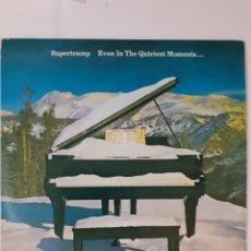 Discos de vinilo: SUPERTRAMP. EVEN IN THE QUIETEST MOMENTS. ESPAÑA 1977. AMLK 64634. DISCO VG+. CARÁTULA VG+.. Lote 288949033
