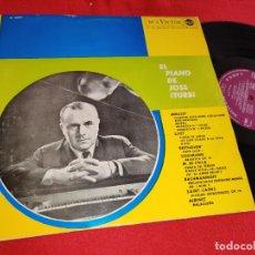 Discos de vinilo: JOSE ITURBI PIANO DEBUSSY+LISZT+BEETHOVEN+FALLA+RACHMANINOFF+SAINT SAENS+ALBENIZ LP 1959 RCA SPAIN. Lote 288949563