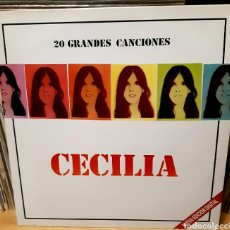 Discos de vinilo: MUSICA GOYO - LP - CECILIA - 20 GRANDES CANCIONES - DOBLE - AA99. Lote 288950358