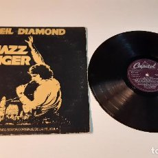 Discos de vinilo: 0921-NEIL DIAMOND-THE JAZZ SINGER CANCIONES DE LA BANDA SONORA ORIGINAL DE LA PELÍCULA -VINYL, LP,. Lote 288950508