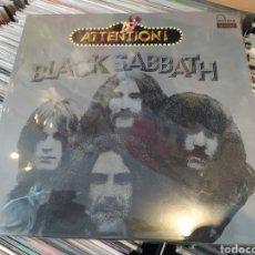 Discos de vinilo: BLACK SABBATH–ATTENTION! BLACK SABBATH. LP VINILO NUEVO.. Lote 288951218