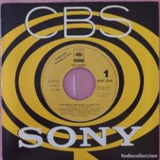 """Discos de vinilo: 7"""" DA JUICE - RUNCOMEFOLLOME - CBS ARIC 0045 - SPAIN PRESS- PROMO 1SIDED (EX/EX). Lote 288951918"""