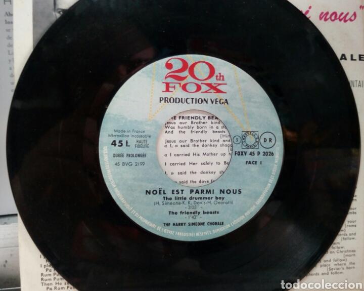 Discos de vinilo: The Harry Simeone Choral. Little Drummer Boy. EP. Edicion francesa - Foto 2 - 288953868