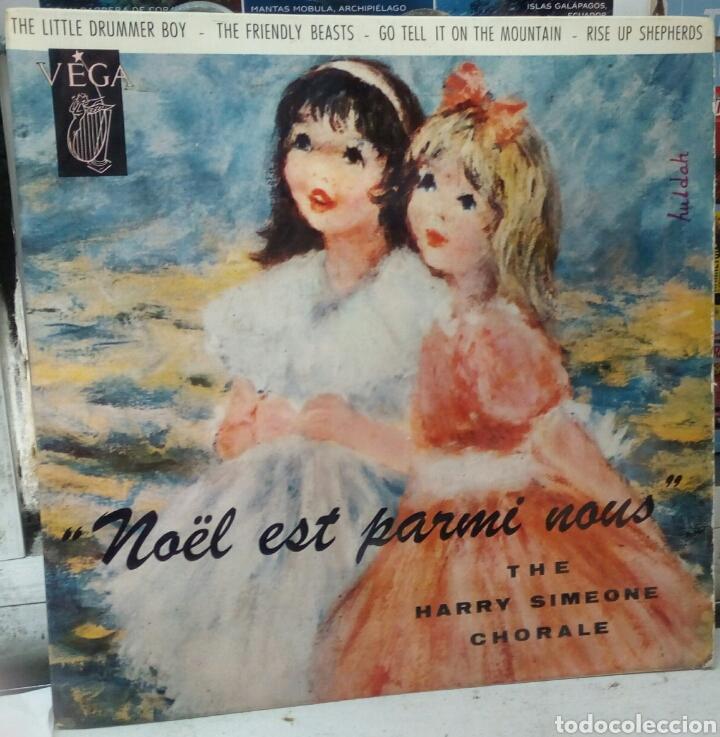 THE HARRY SIMEONE CHORAL. LITTLE DRUMMER BOY. EP. EDICION FRANCESA (Música - Discos de Vinilo - EPs - Clásica, Ópera, Zarzuela y Marchas)