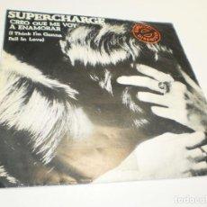 Discos de vinilo: SINGLE SUPERCHARGER. CREO QUE ME VOY A ENAMORAR. VIRGIN 1978 SPAIN (PROBADO, BUEN ESTADO). Lote 288959078