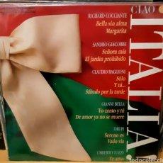 Discos de vinilo: MUSICA GOYO - LP - CIAO ITALIA - LO MEJOR - AA99. Lote 288959608
