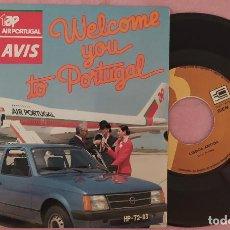 """Discos de vinilo: 7"""" WELCOME YOU TO PORTUGAL """"CAR COVER"""" OPEL KADETT - PORTUGAL (EX+/EX+). Lote 288960143"""