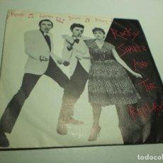 Discos de vinilo: SINGLE ROCKY SHARPE AND THE REPLAYS. RAMA LAMA DING DONG, CUANDO LAS COSAS VAN MAL. CHISWICK 1978. Lote 288961003