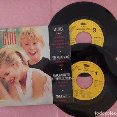 """Discos de vinilo: 2X7"""" BSO - OST """"MY GIRL"""" (MI CHICA) REMIX EXCLUSIVO - ARIE 3164 - SPAIN PRESS - PROMO (EX+/EX+). Lote 288962293"""