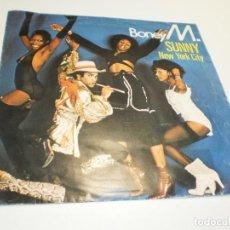 Discos de vinilo: SINGLE BONEY M. SUNNY. NEW YORK CITY. ARIOLA 1977 SPAIN (PROBADO, MUY BUEN ESTADO). Lote 288962873