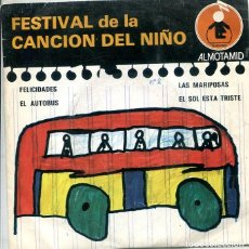 Discos de vinilo: FESTIVAL DE LA CANCION DEL NIÑO Nº 2 (FELICIDADES + 3 (EP ALTOMID 1979). Lote 288964243