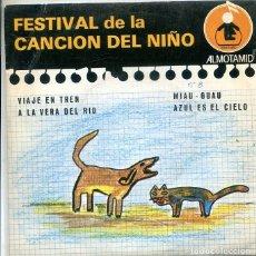 Discos de vinilo: FESTIVAL DE LA CANCION DEL NIÑO Nº 8 / VIAJE EN TREN + 3 (EP ALTOMID 1979). Lote 288964908