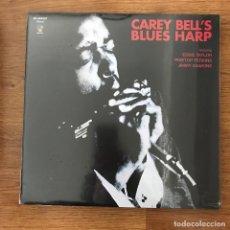 Discos de vinilo: CAREY BELL - CAREY BELL'S BLUES HARP (1969) - LP REEDICIÓN 6 SPICES 2009 NUEVO. Lote 288968118