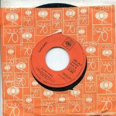 Discos de vinilo: GARFUNKEL / CANTARE / FEUILLES-OH (SINGLE CBS 1974). Lote 288972728